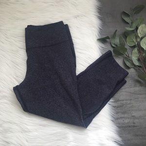 Women's Nike Heathered Purple Cropped Leggings